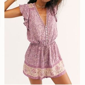 NWT Spell and the Gypsy Collective Dahlia Romper
